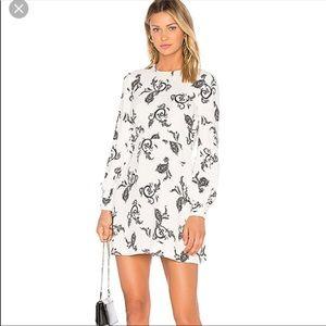 "A.L.C ""Lauren"" paisley print dress 8"